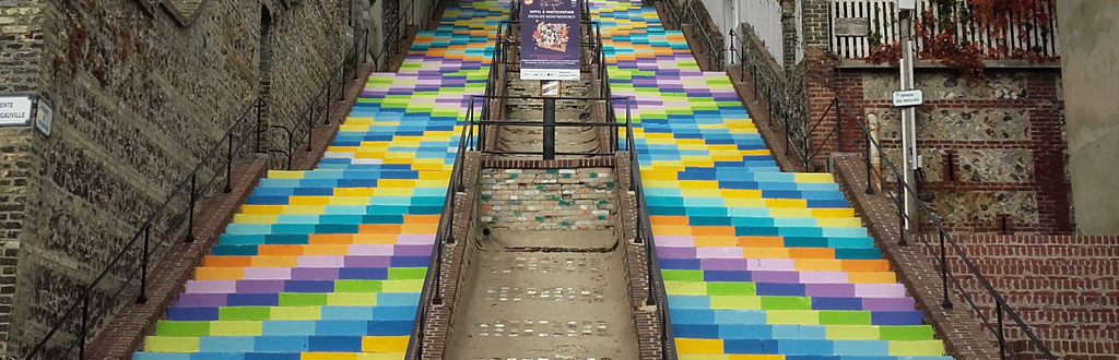 L'escalier Montmorency
